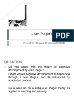 Jean Piaget's Theory