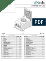 Biofuge Pico 120V 230V Green Dual