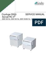 Cryofuge 5500i Sorvall RC4 120 200 208 English