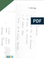 DOCUMENT - Lettre de menace reçue par le député PS Hugues Fourage