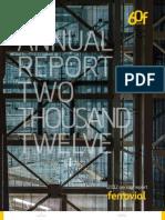 2012 Ferrovial Annual Report