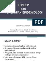 Konsep Dan Penerapan Epidemiologi