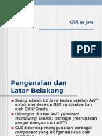 Pemrograman GUI Dalam Java