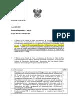 AVISO DE LICITAÇÃO Aquisição de Equipamentos para Implantação do Sistema de Monitoramento Quali Quantitativo de Águas Subterrâneas em poços no Estado