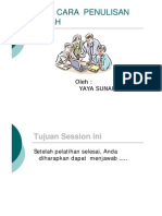 Tata Cara Penulisan Ilmiah [Compatibility Mode]
