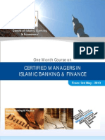 Certified Managers in Islamic Banking & Finance (May-June) 2013