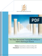 Two Days Specialized Training Workshop on Islamic Banking & Finance