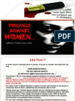 Violence Against Women_a Research Study