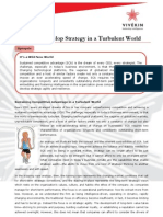 How to Strategize in a Turbulent World