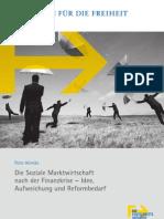 Die Soziale Marktwirtschaft nach der Finanzkrise – Idee, Aufweichung und Reformbedarf