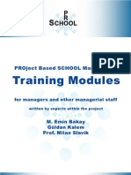 PRO-SCHOOL Training ModulesEN