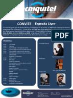 PROGRAMA - Conferência Tecniquitel - EXTINÇÃO DE INCÊNDIO POR ÁGUA NEBULIZADA A ALTA PRESSÃO