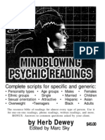 Herb Dewey - Mindblowing Psychic Readings OCRd