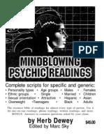 Herb Dewey - Mindblowing Psychic Readings OCRd