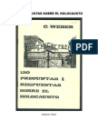 Charles E. Weber - 120 Preguntas Sobre El Holocausto