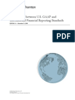 Us Gaap Ifrs Comparison