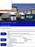 Market Research India - Cold Chains Market in India 2009