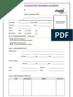 Mata Applicationform