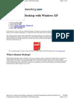 0.Setup Remote Desktop Connection
