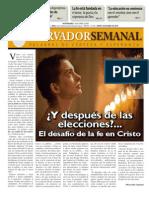 Observador Semanal del 18/04/2013