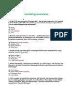 Business and Marketing Awareness
