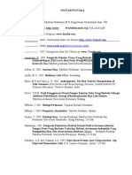 Pengaruh Lama Perendaman (Dipping) Pada Perlakuan Kejutan Panas (Heat Shock) Terhadap Perkembangan Embrio Dan Penetasan Telur Ikan Lele Dumbo (Clarias Gariepinus) (Daftar Pustaka)