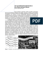 Projeto Habitacional Com Elementos Estruturais