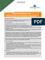 Bulletin Mensuel Statistique des Finances Publiques - Février 2013