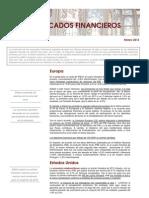 Informe de Mercados Marzo 2013