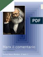 Marx II Comentario