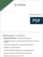 McDonald China