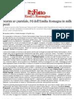 a Marini al Quirinale, Pd dell'Emilia Romagna in mille pezzi - Il Fatto Quotidiano
