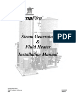 Steam Generator Installation Manual