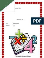 Guias de Matematica 1 Periodo Segundo