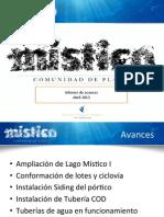 Informe Avance Místico Abril 13