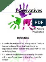Credit Dericvatives Final