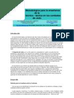 Propuesta Metodológica para la enseñanza de la efectividad tecnico-tatica en los comabtes de judo