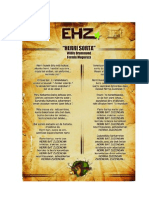 Herri Sorta, la chanson d'EHZ 2013