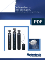 Water Filters Commercial AAC Activated Carbon Filters FRENCH Brochure