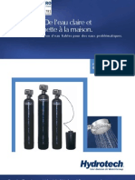 Water Filters Commercial AMG Manganese Greensand Filters FRENCH Brochure