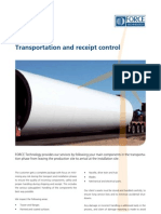 Transportation and Receipt of Parts