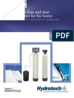 Water Filters Residential 5600CC Multi-Media Turbidity Filters ENGLISH American Brochure