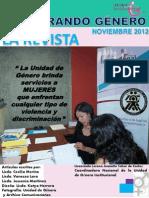 Revista Género Noviembre 2012 pdf
