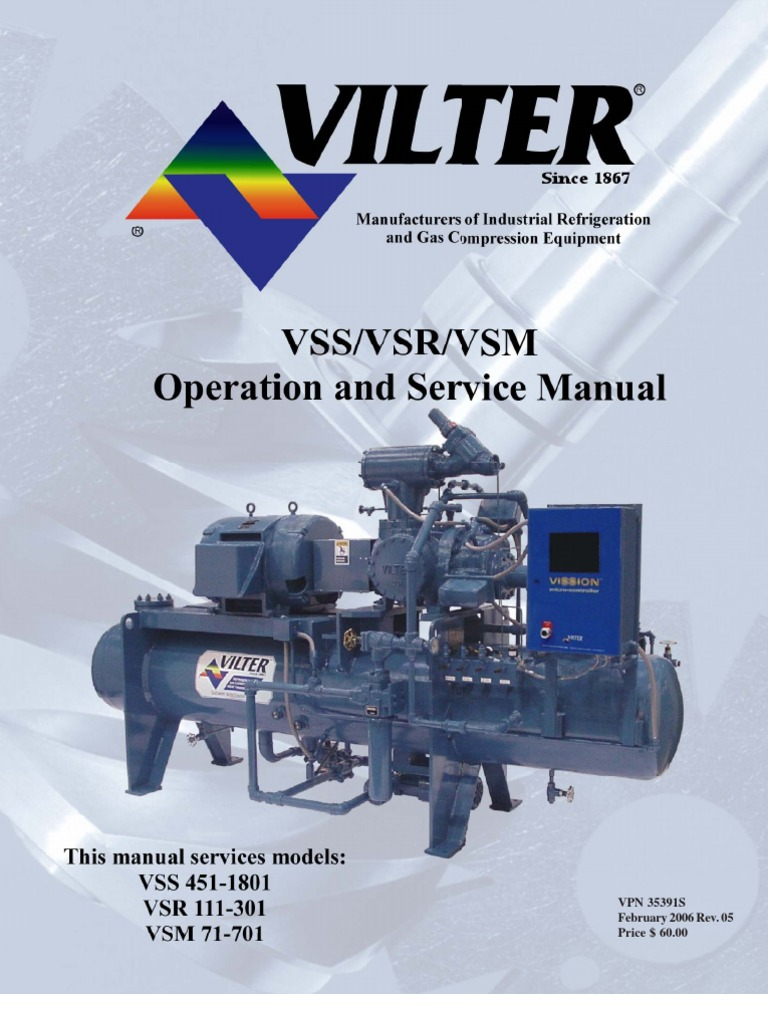 manual vilter valve indemnity rh es scribd com vilter screw compressor manual vilter screw compressor manual
