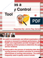 Audit as a Quality Control Tool report.ppt