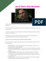 5 Weaknesses of Steve Jobs Revealed