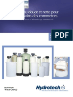 Water Softeners Commercial TMI Softeners Canadian FRENCH Brochure
