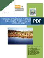 Fortalecimiento de La Cadena Productiva Caprina-Comondu-Loreto