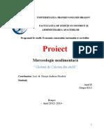 proiect merceologie 2012