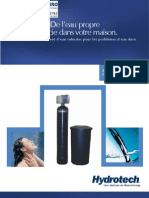 Water Softeners Residential 6700XTR Softeners Canadian FRENCH Brochure